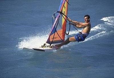 Photograph - Windsurfing On Charter by Don Kreuter