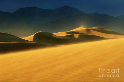 Photograph - Death Valley Windswept 2 by Bob Christopher