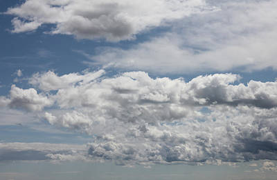 Photograph - Windswept Clouds by Donna L Munro