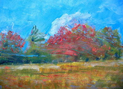 Windy Day Art Print by Lisa Dionne