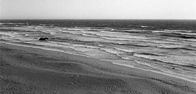 Photograph - Windy Surf by Mark Greenberg