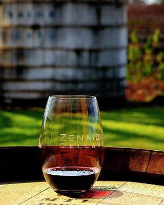Celebrity Pop Art Potraits - Wine and winery by Bill Dodsworth
