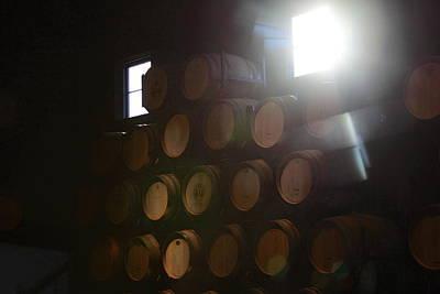 Wine Barrels Art Print by Viktor Savchenko