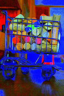 Wine Cart Photograph - Wine Buggy by James Eller