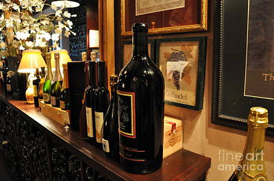 Still Life Photograph - Wine Cellar  2 by Tanya  Searcy