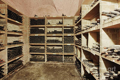 Wine Cellar Photograph - Wine Cellar by Jeremy Woodhouse