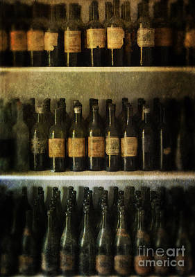Pantries Photograph - Wine Collection by Jill Battaglia
