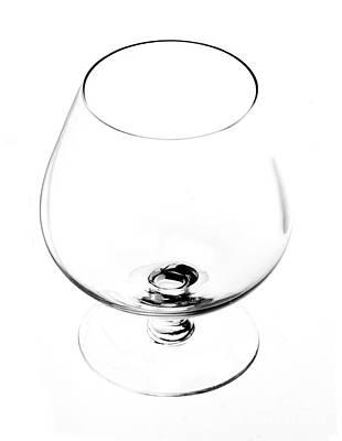 Wine Glass Art Print by Michal Boubin