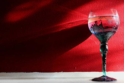 Wine Rays Art Print by Lauri Novak