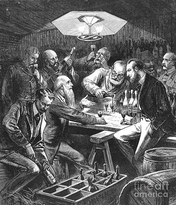 Wine Tasting, 1876 Art Print by Granger
