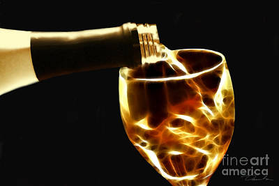 Photograph - Wine Tasting by Danuta Bennett