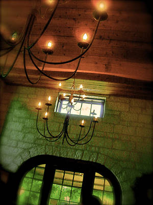 Winery Ceiling Art Print by Amber Hennessey