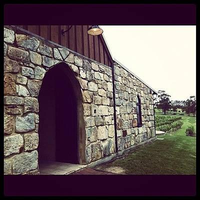 Vineyard Photograph - #winery #vineyard #building by Glen Offereins