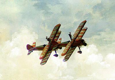 Wing Walkers Art Print by Jacqui Kilcoyne
