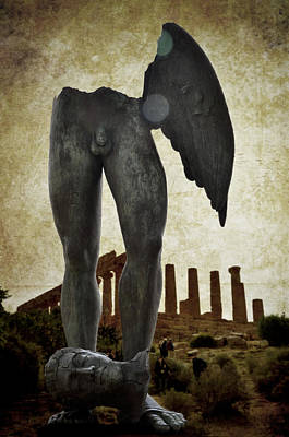 Photograph - Winged Legs At Temple Of Juno by RicardMN Photography