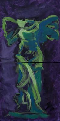 Winged Victory Original by Megan Wood