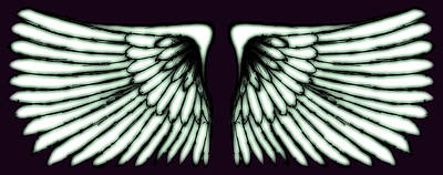 Abstract Digital Art - Wings by Sumit Mehndiratta