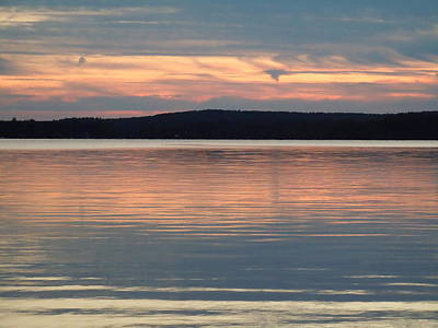 Photograph - Winnipesaukee Sunset Two by Nancy Griswold