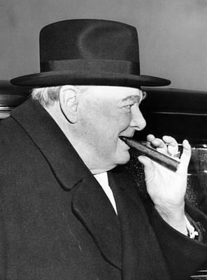 Winston Churchill, 1953 Art Print