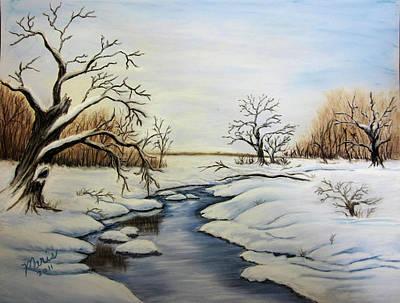 Winter 2011 Art Print by Maris Sherwood