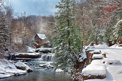 Photograph - Winter At Babcock  by Mary Almond