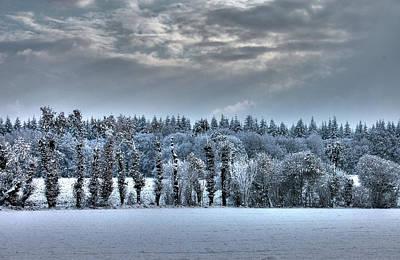 Winter At France Art Print by Dominique Guillaume est un Auteur-Photographe
