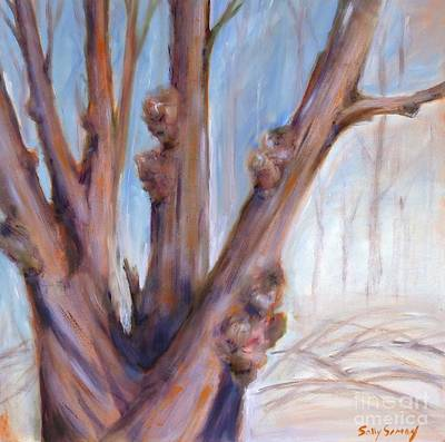 Painting - Winter Bones by Sally Simon