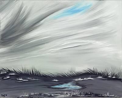 Painting - Winter Boredom by David Junod