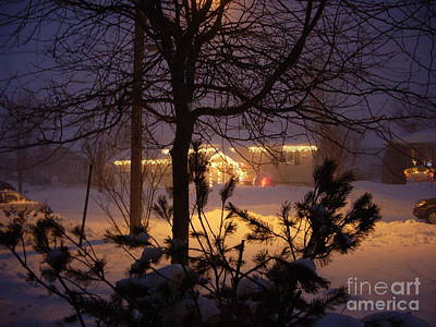 Art Print featuring the photograph Winter Charm by Kathleen Pio