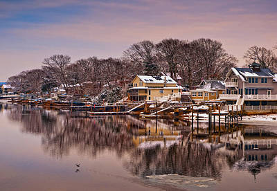 Photograph - Winter Cove by Robin-Lee Vieira