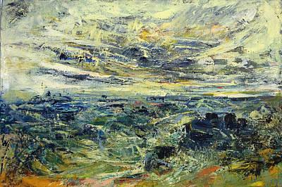 Jewish Painter Painting - Winter Day In The Mediterranean by Naftali Salomon