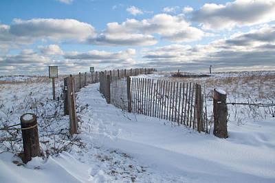 Photograph - Winter Dunes by Susan OBrien