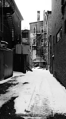 Winter Escape Art Print by Jonathan Bateman