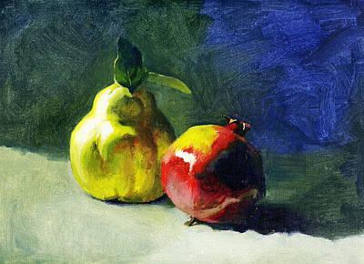 Winter Fruits Art Print by Tatyana Holodnova