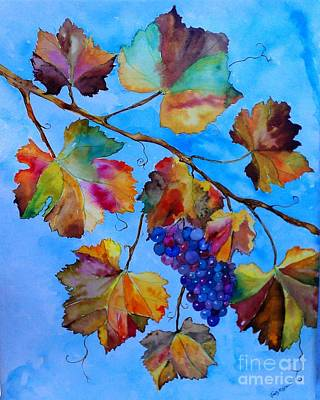Winter Grapes Art Print by Fred Meehan