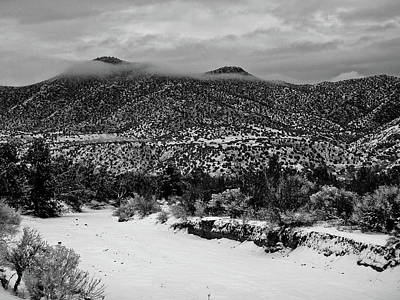 Photograph - Winter Hills by Atom Crawford