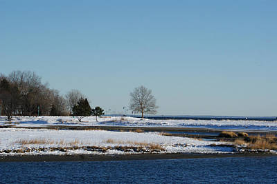 Photograph - Winter In Fairfield County by Margie Avellino