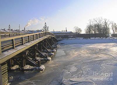 Winter In Peterburg Art Print by Yury Bashkin