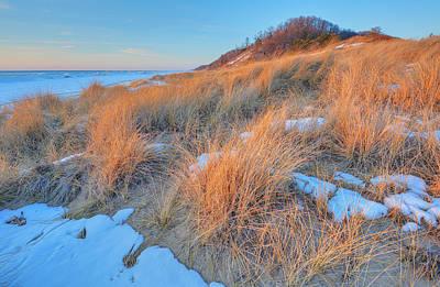 Hollywood Style - Winter Landscape Saugatuck Dunes by Dean Pennala