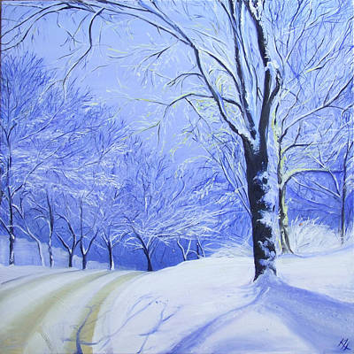 Painting - Winter Light by Karen Hurst