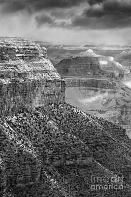 Photograph - Winter Morning At The Grand Canyon by Sandra Bronstein