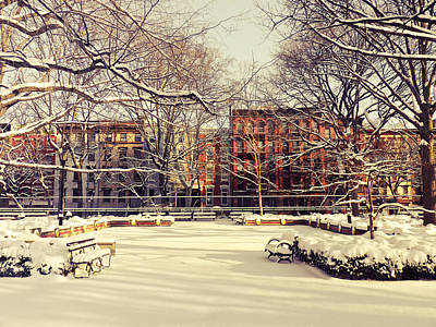 East Village Photograph - Winter - New York City by Vivienne Gucwa