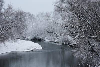 Photograph - Winter On Elkorn Creek by Bruce Bley