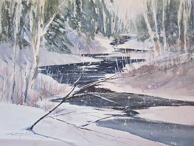 Winter On The Sturgeon Original