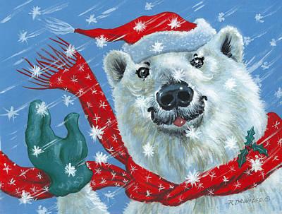 Winter Really Is A Blast Art Print by Richard De Wolfe