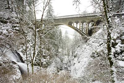 Winter, Shepperds Dell, Columbia River Art Print by Craig Tuttle