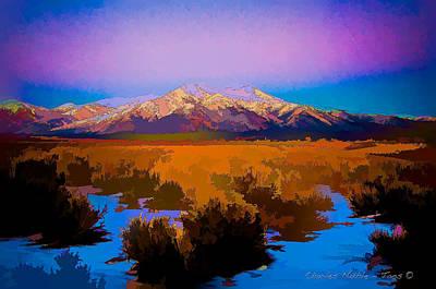 Digital Art - Winter Storm II by Charles Muhle