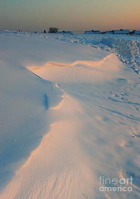 Manipulation Photograph - Winter Sunset by Jutta Maria Pusl