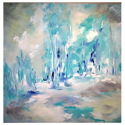Painting - Winter Symphony by Sue Prideaux