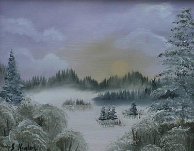 Kugler Painting - Winter Thaw by Scott Kugler